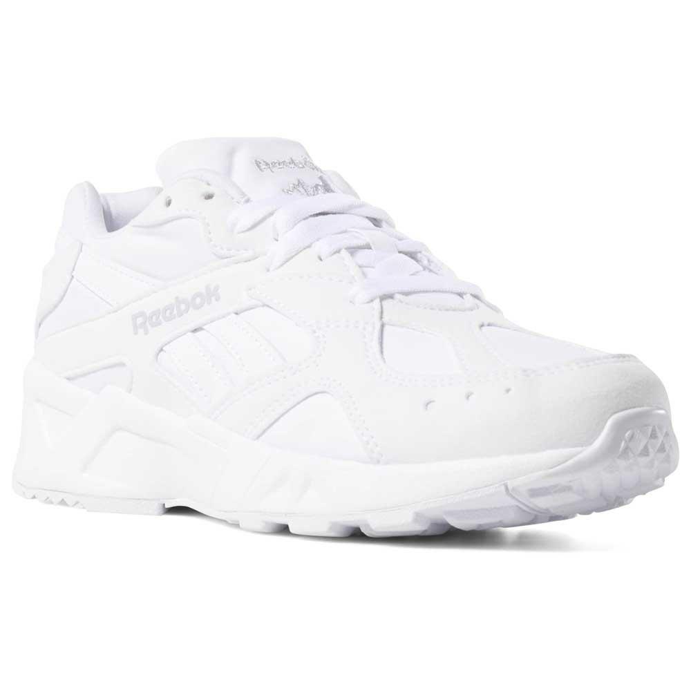 reebok white runners