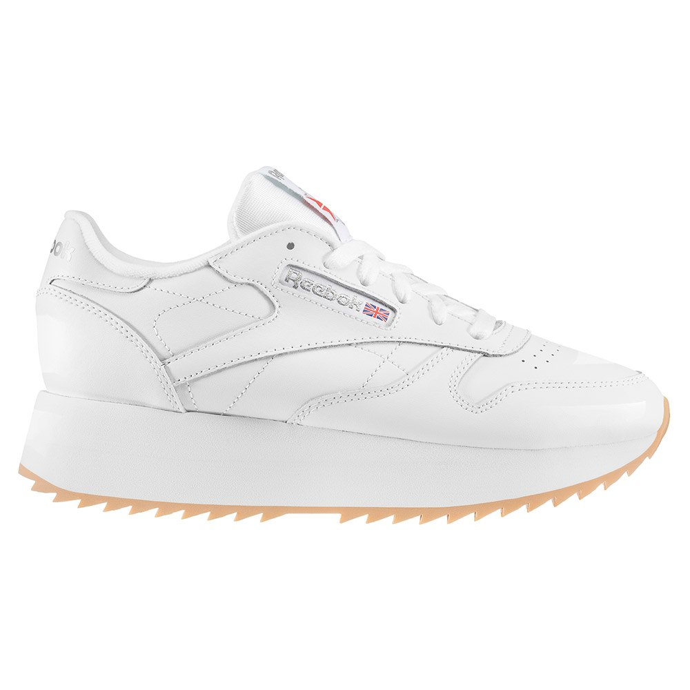 f6bc60105d3 Reebok classics Leather Double White buy and offers on Dressinn