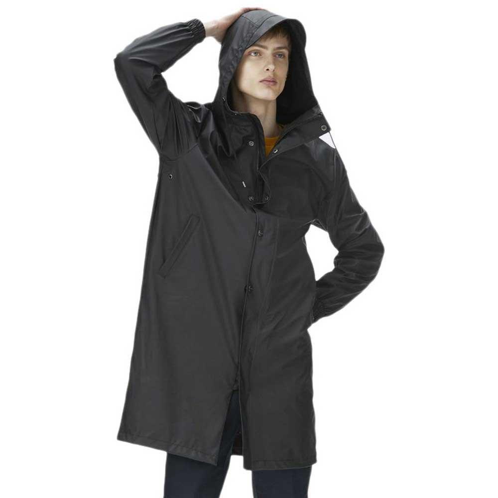d4df8cfe Rains Fishtail Parka Negro comprar y ofertas en Dressinn