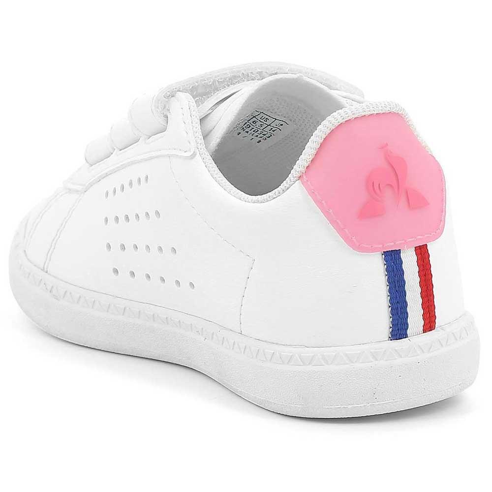 0c3abd99a6 Le coq sportif Courtset Inf Sport Girl White, Dressinn
