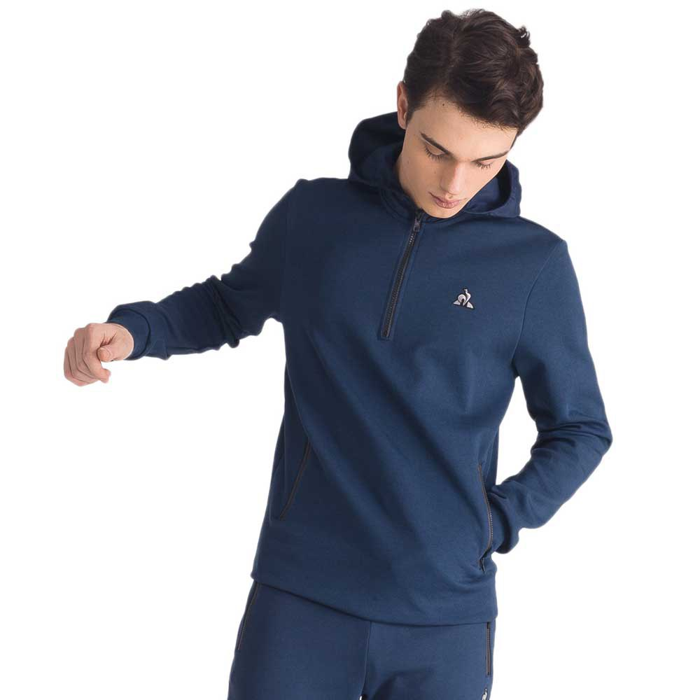 Le coq sportif LCS Tech Pull-Over Hood Blue,