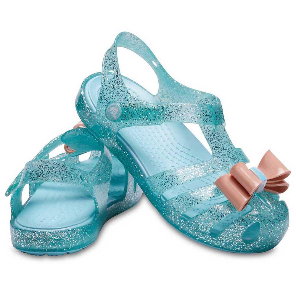 Crocs Isabella Bow Sandal 青, Dressinn