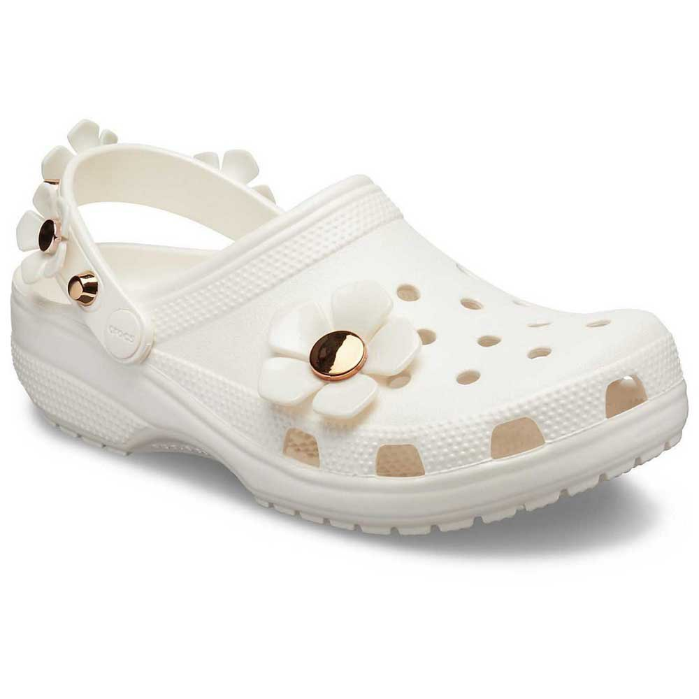 Crocs Classic Metallic Blooms Clog