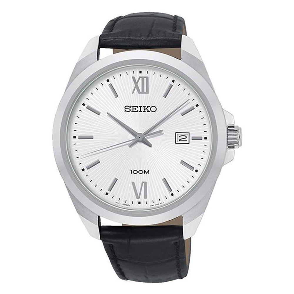 Seiko-watches Quartz Sur283p1 One Size Metallic / Black / White