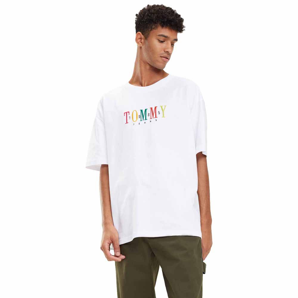 Tommy hilfiger Multicolor Logo White buy and offers on Dressinn