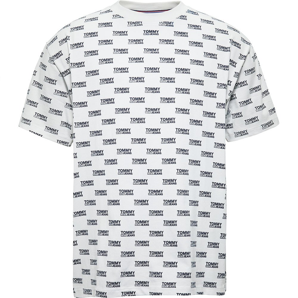 Tommy hilfiger Multicolor Corporate Logo White, Dressinn