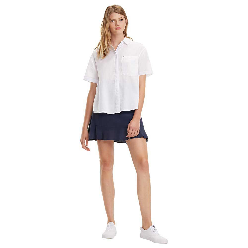 d93445ed Tommy hilfiger Drapey White buy and offers on Dressinn