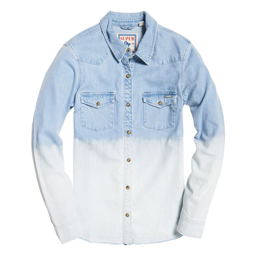 Superdry Womens Western Denim Shirt