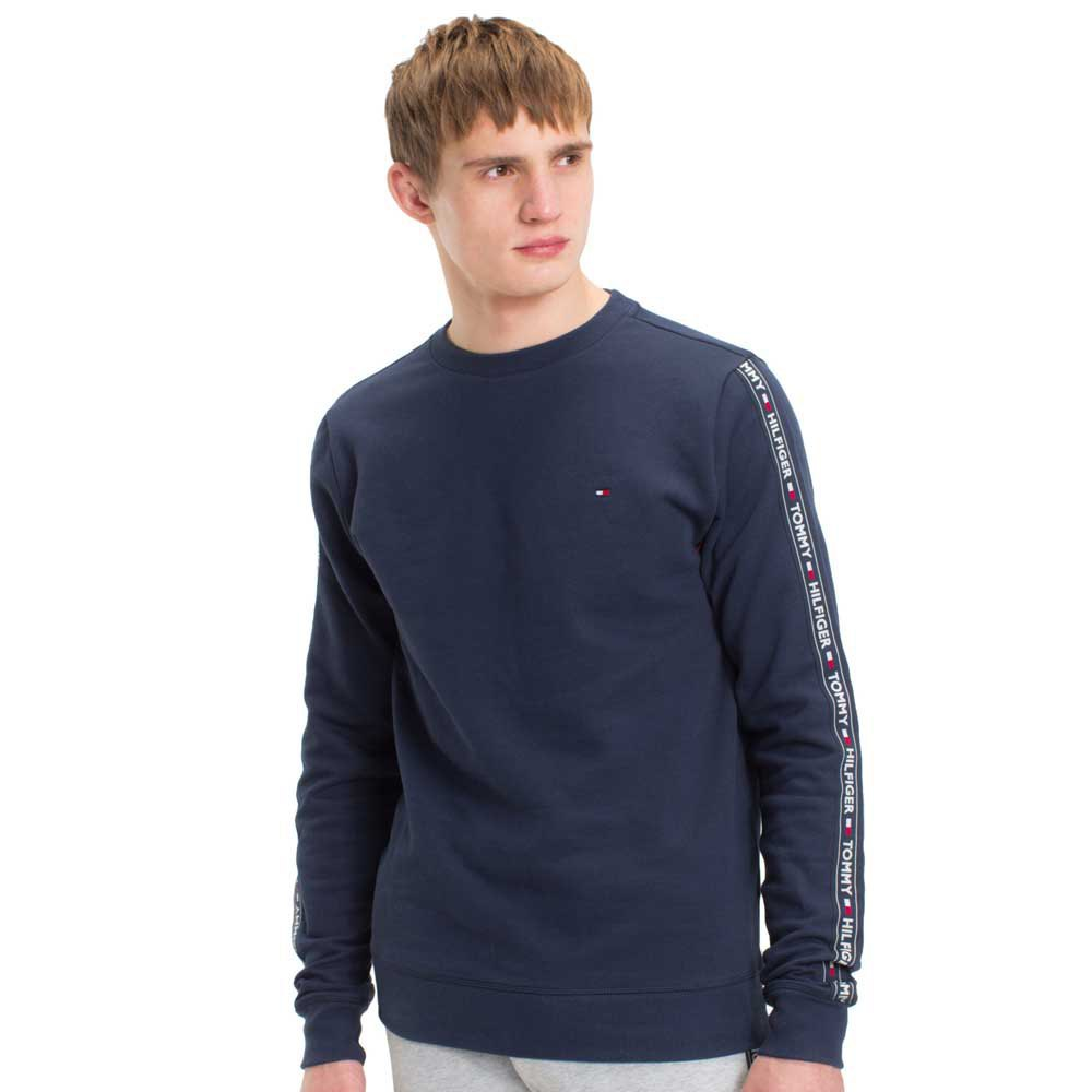 tommy hilfiger logo tape sweatshirt