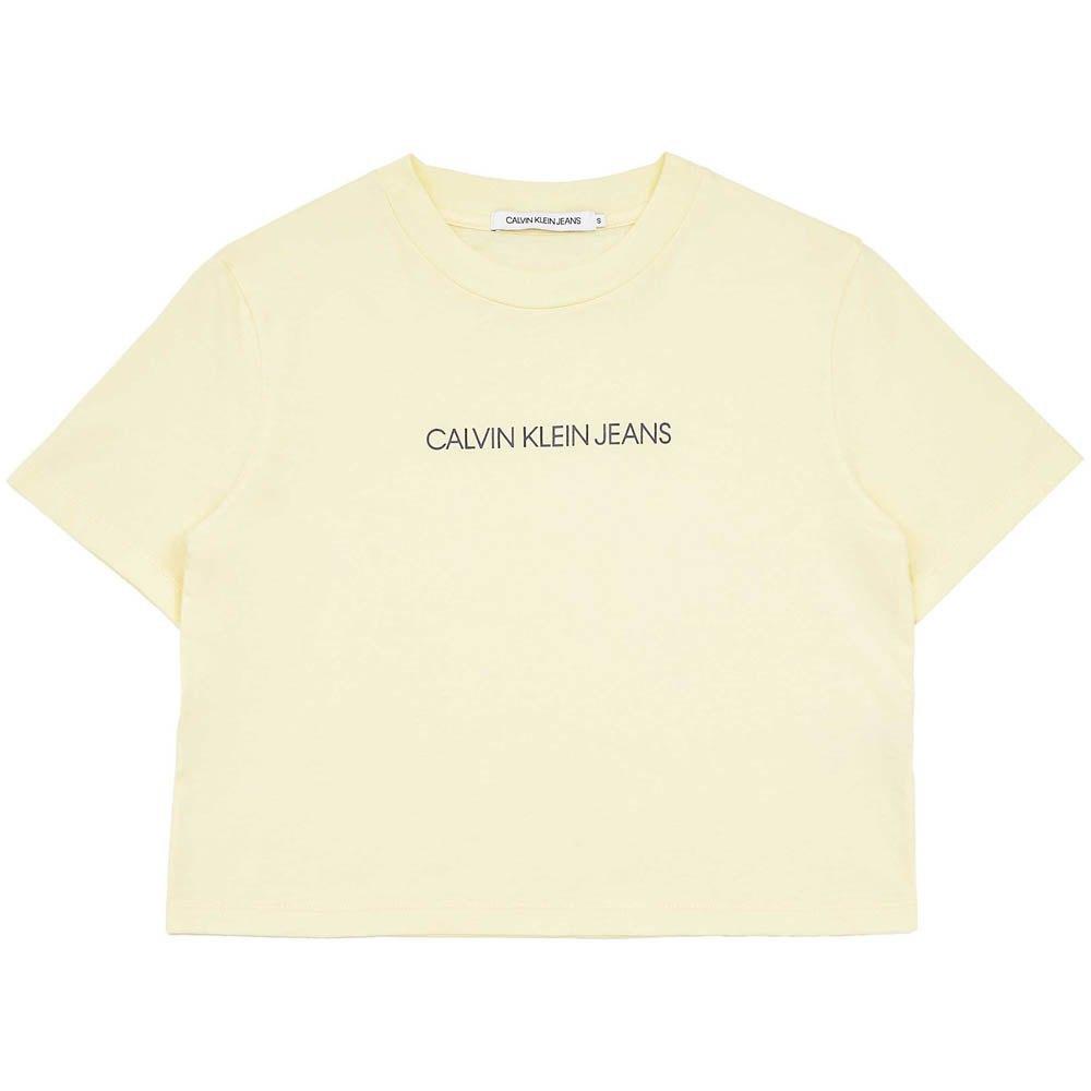 Calvin klein Shirt Yellow buy and