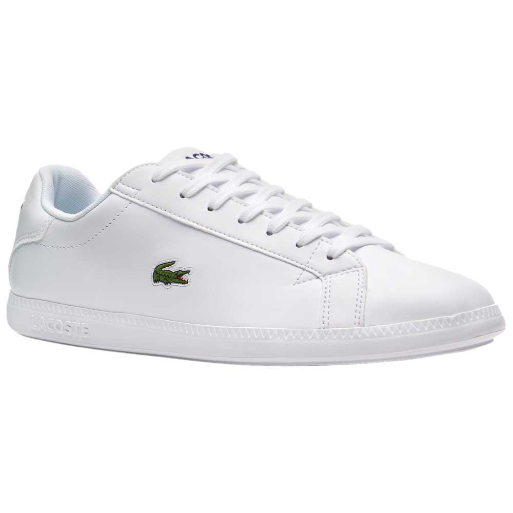 Lacoste Graduate Leather White buy and