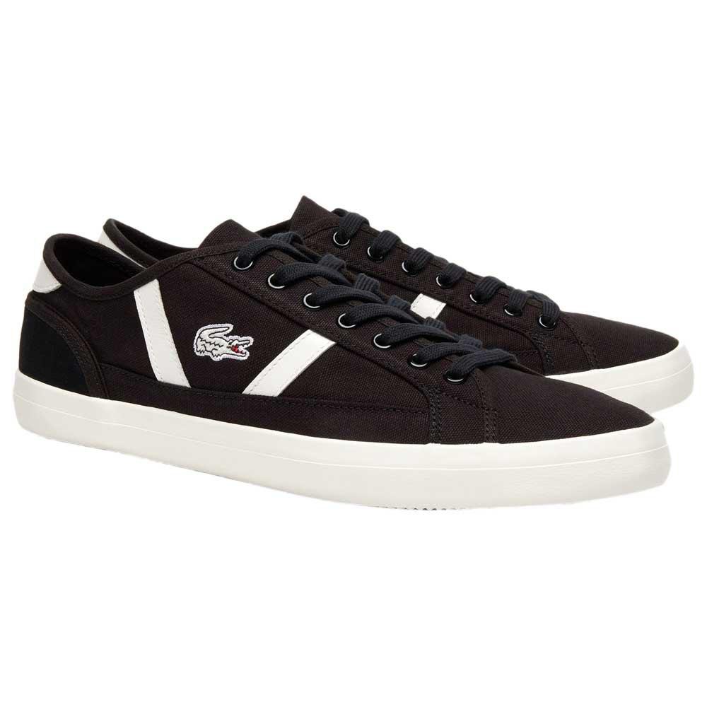 baskets-lacoste-sideline-canvas-leather-eu-45-noir