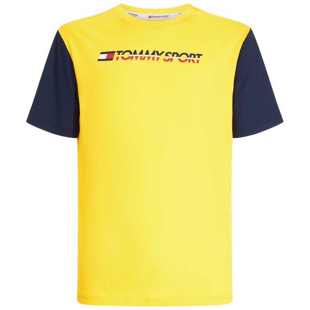 99d8b623 Tommy hilfiger Colourblock Logo Yellow, Dressinn