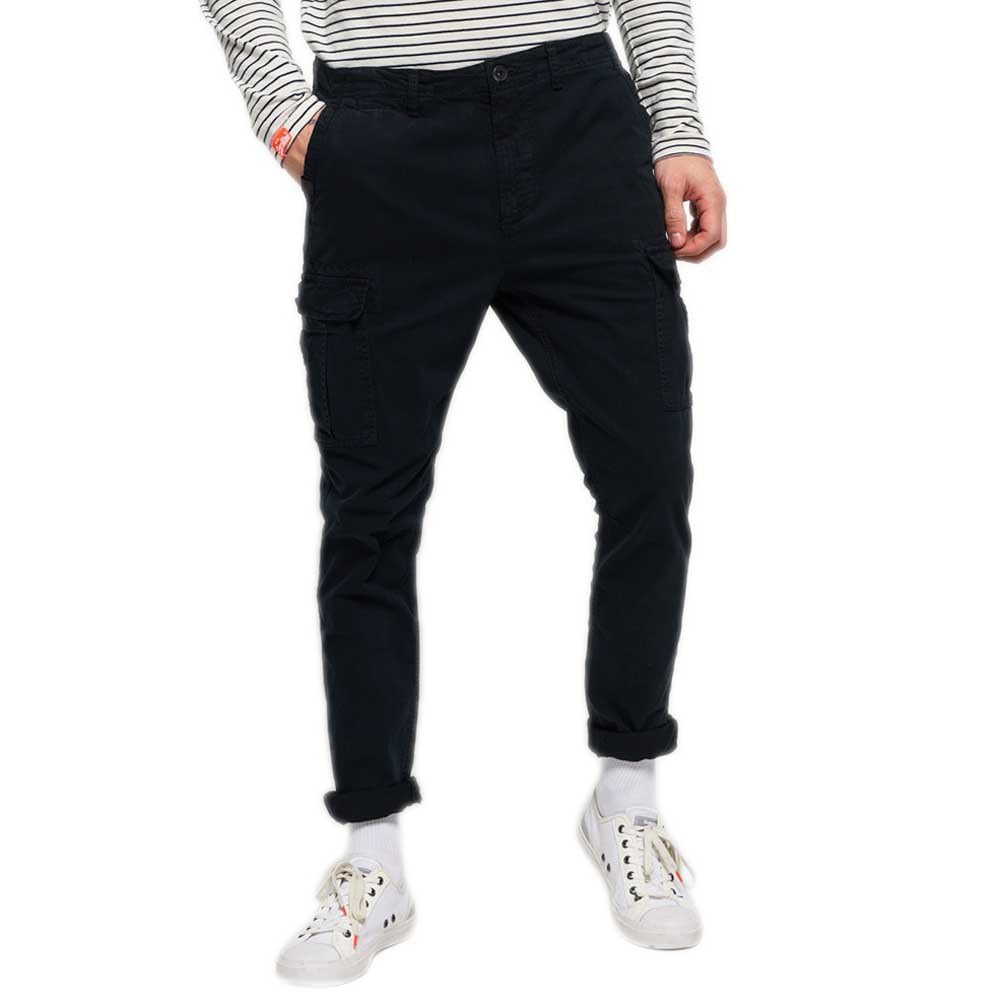 pantalons-superdry-surplus-goods-cargo-33-washed-black