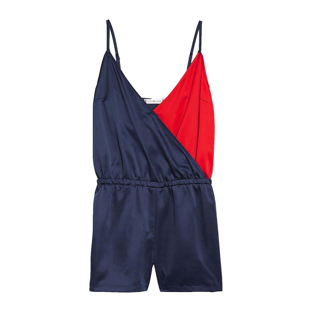 257f378e Tommy hilfiger Colour-Blocked Spaguetti Straps Playsuit Blue, Dressinn