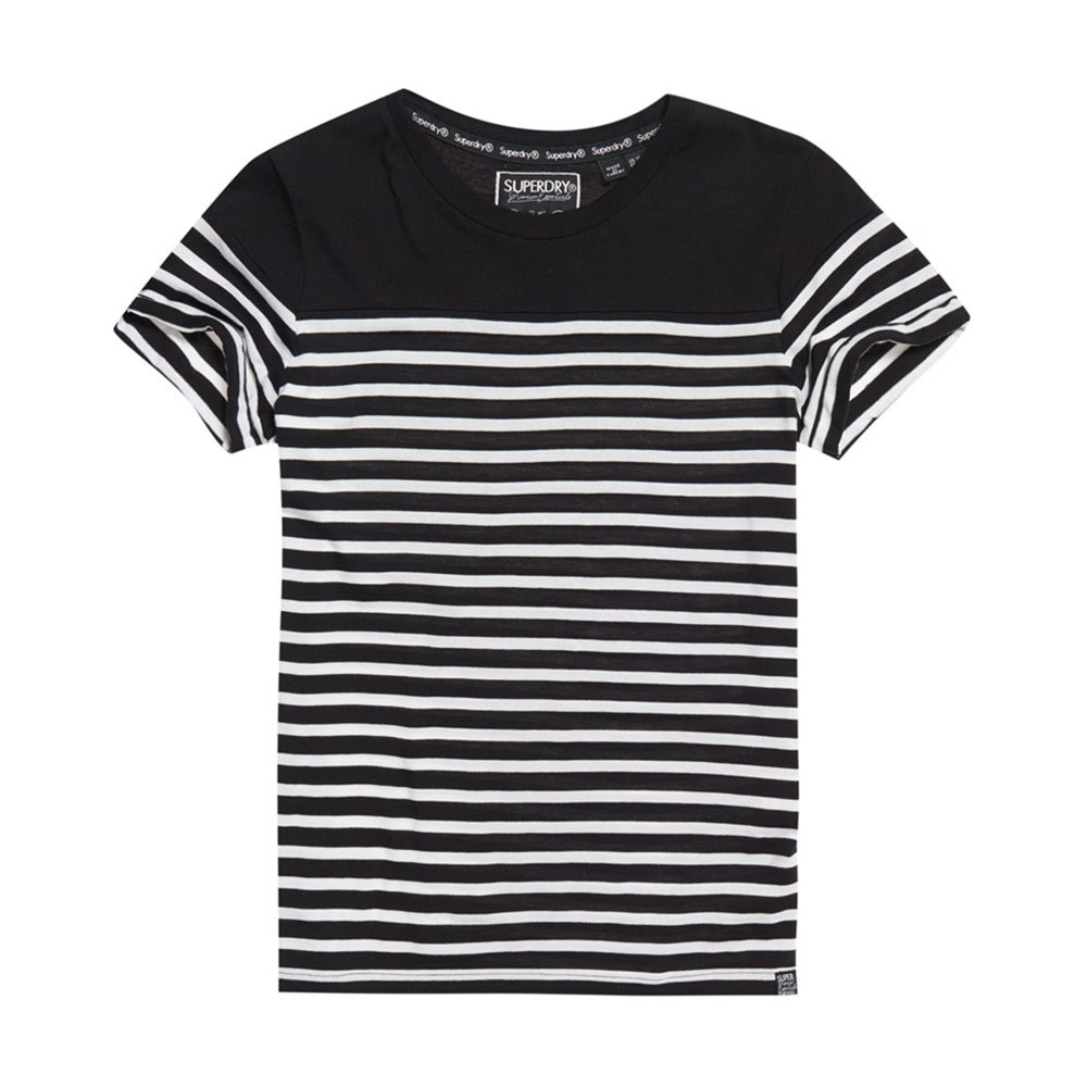 t-shirt marinière pop superdry