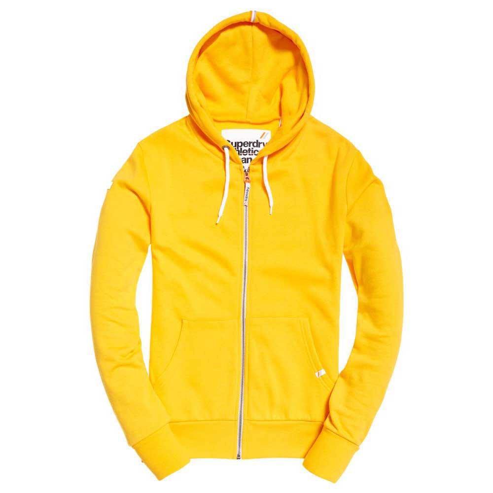 Trui met capuchon Superdry geel kopen? Bestel hier online!