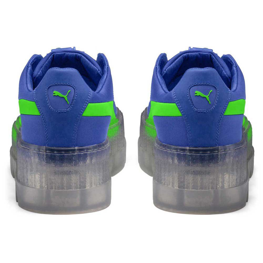 finest selection 05f13 5d366 Puma Cleated Creeper Surf Blue buy and offers on Dressinn