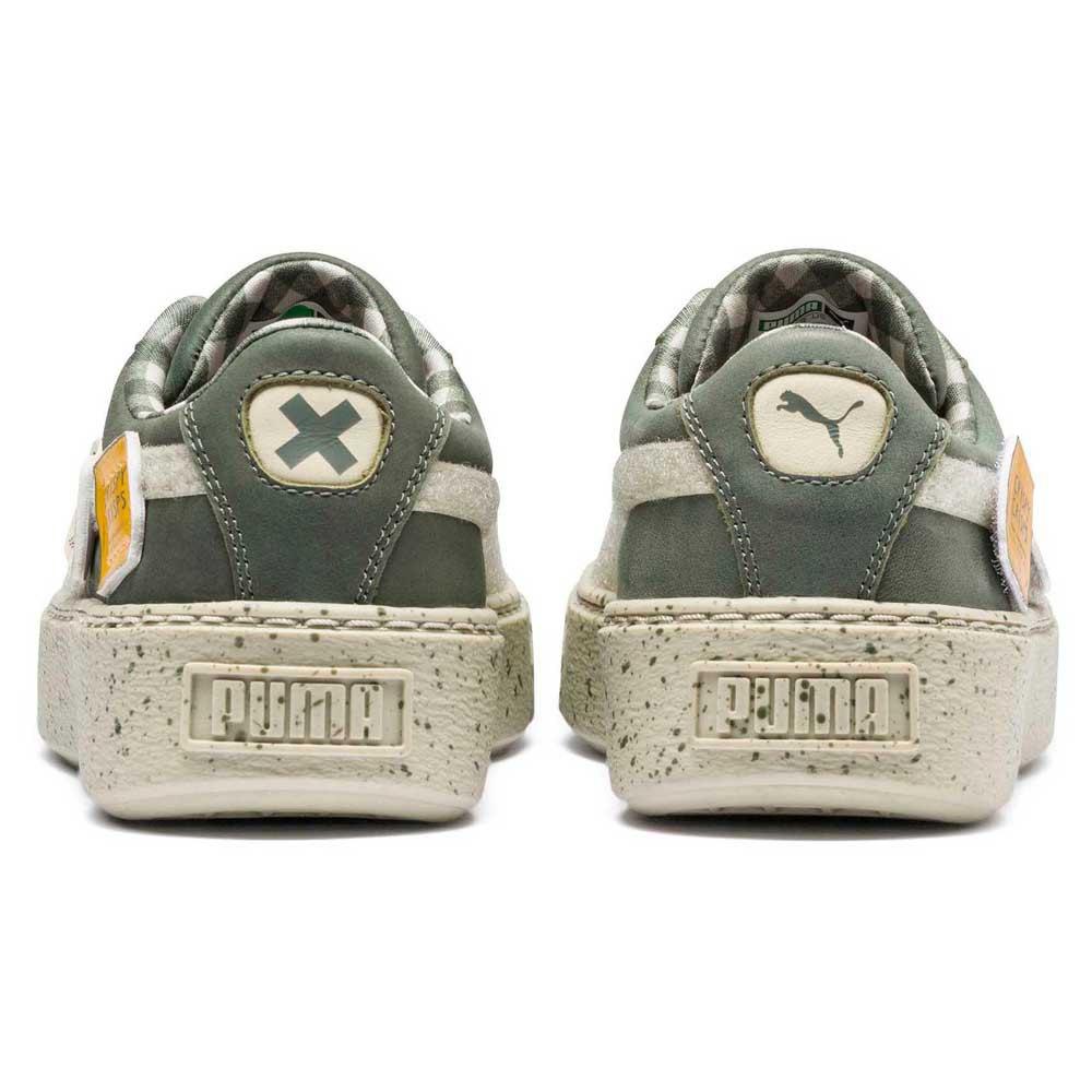 e641748c55 Puma Puma X Tc Basket Platform Ldn Junior Green, Dressinn