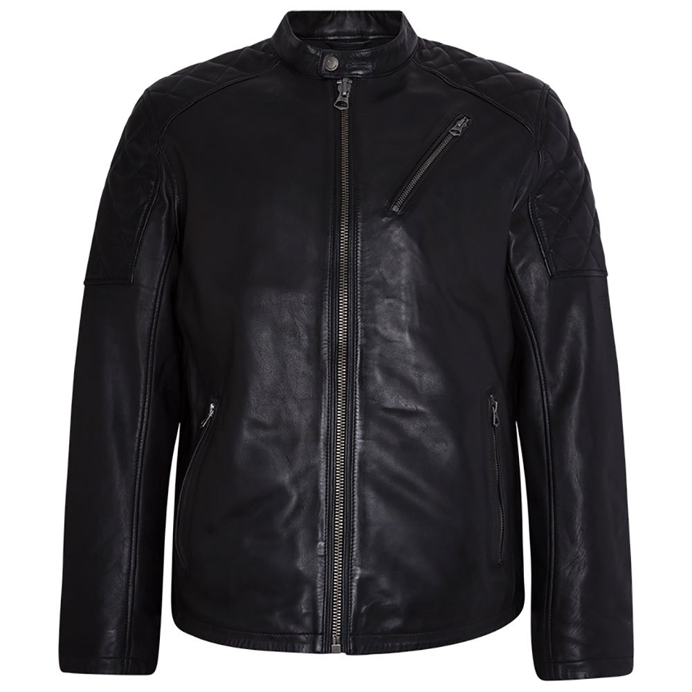 Pepe Jeans ELISEOS - Giacca di pelle black