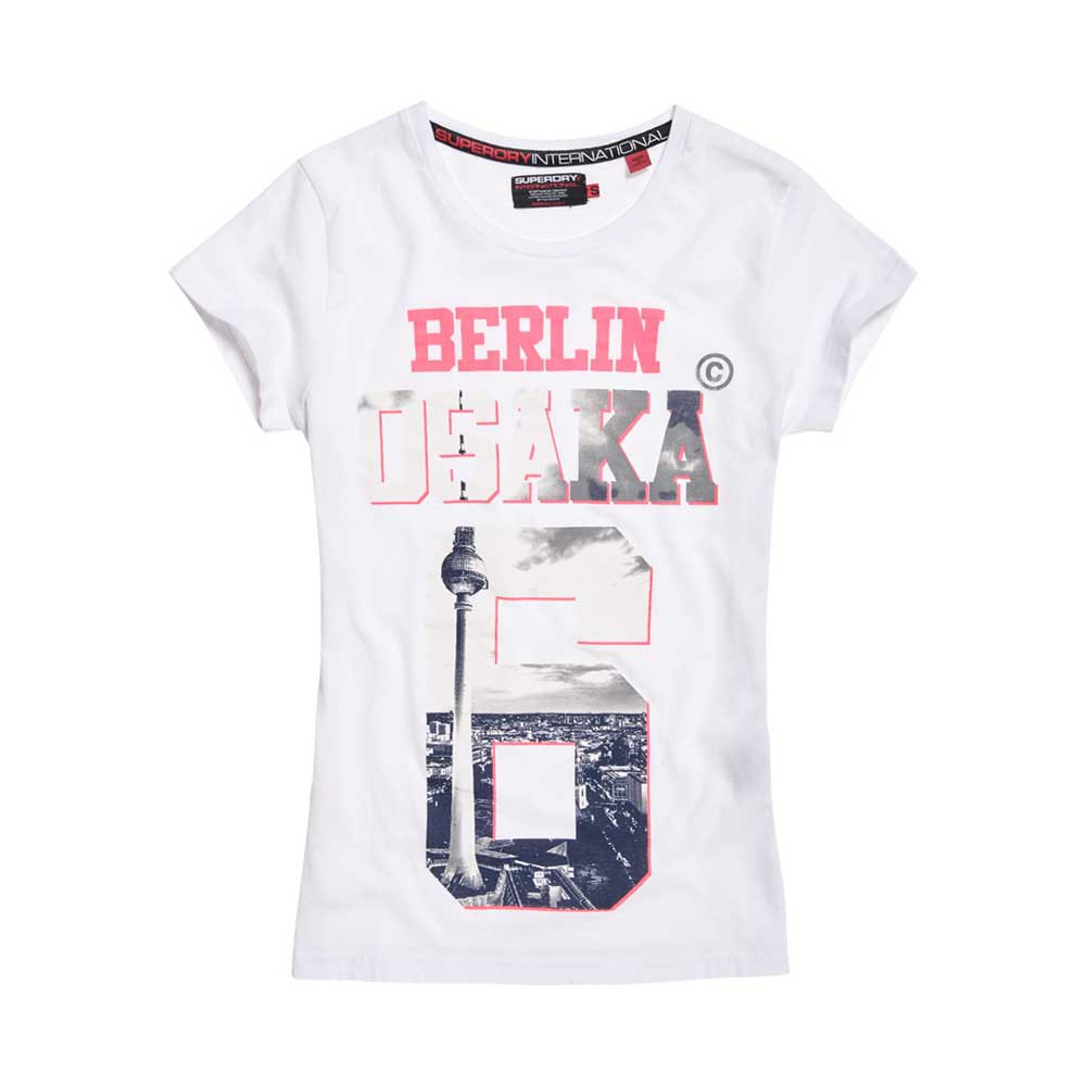 quality design 74d41 5411d Superdry Osaka Berlin Limited Edition White, Dressinn
