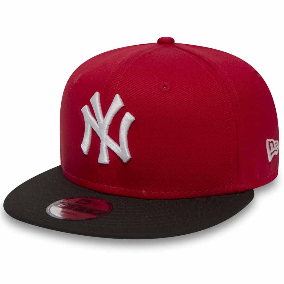 New Era Mesh New York Yankees Burgundy On White Metal Logo 9Fifty Snapback Hat