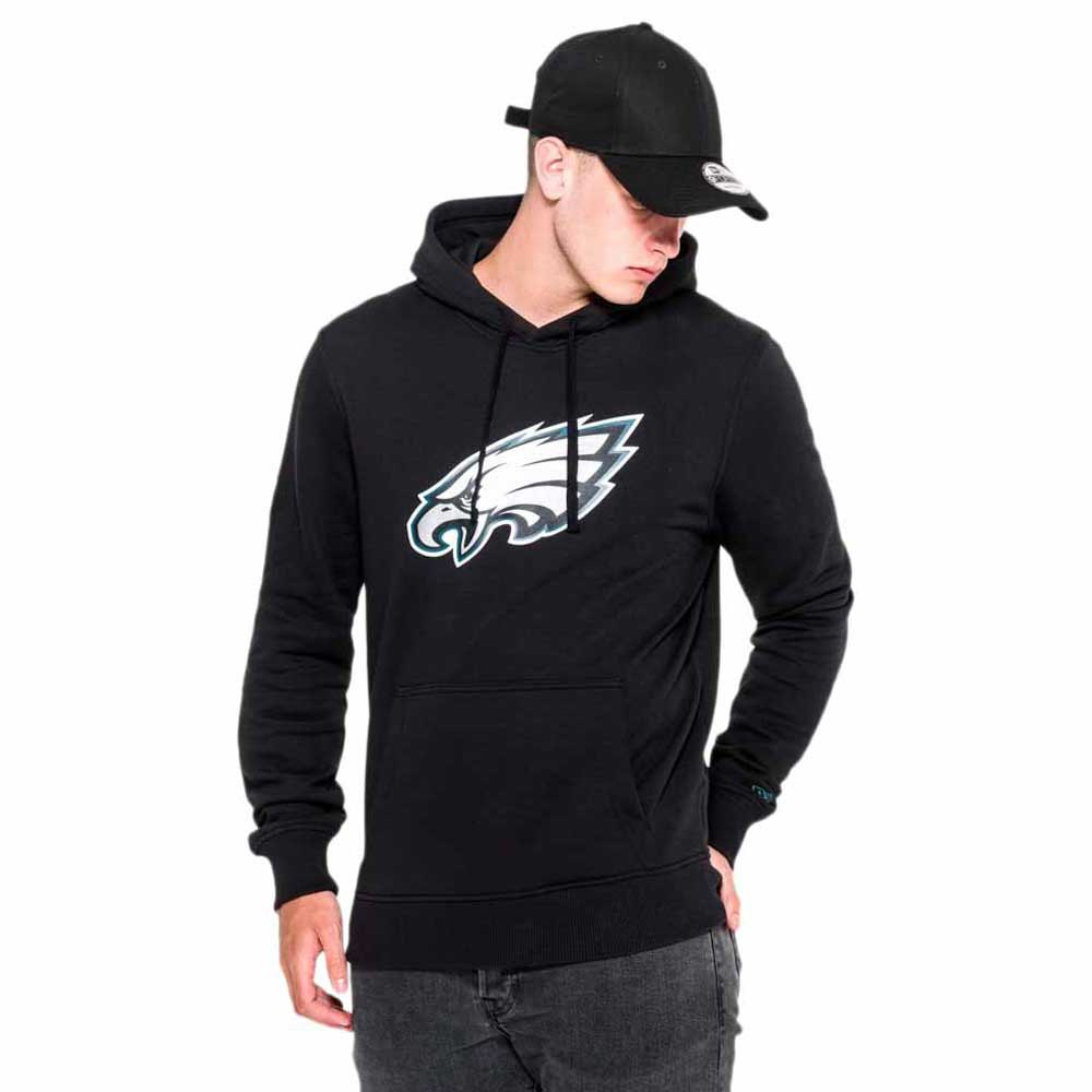 XL New Era Philadelphia Eagles Hoody Team Logo Po Hoody Black