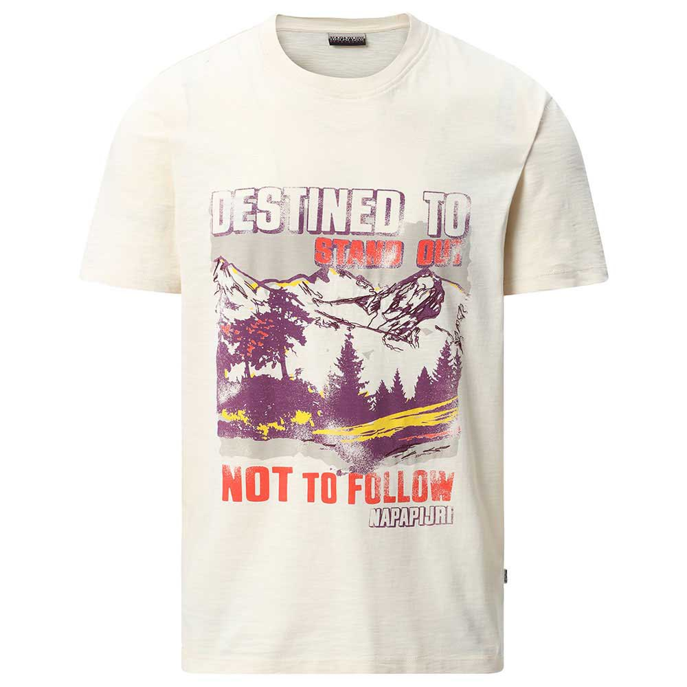 Napapijri Seeb Hvit kjøp og tilbud, Dressinn T skjorter