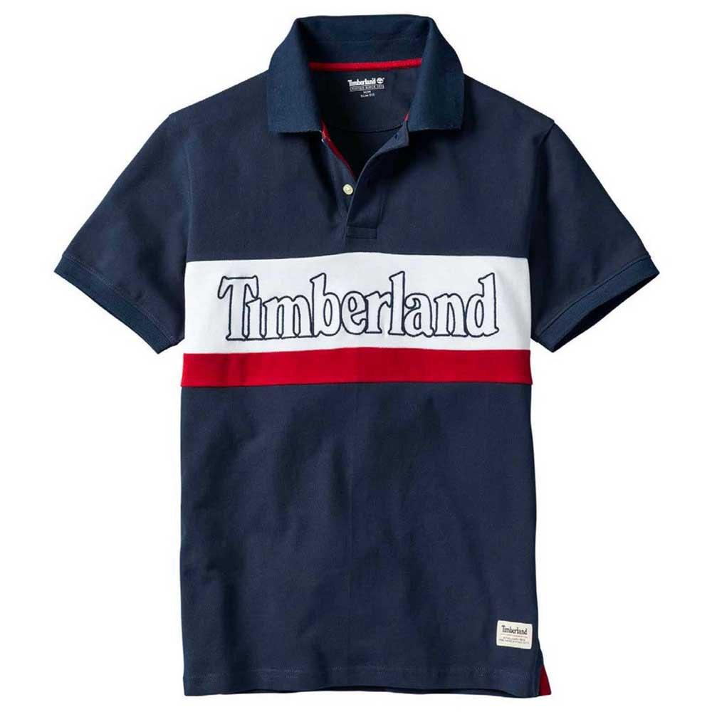 Timberland Millers River Colour Block Pique Slim