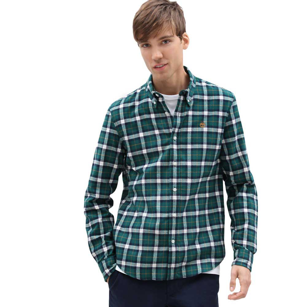 Timberland Back River Midweight Herringbone Check Slim