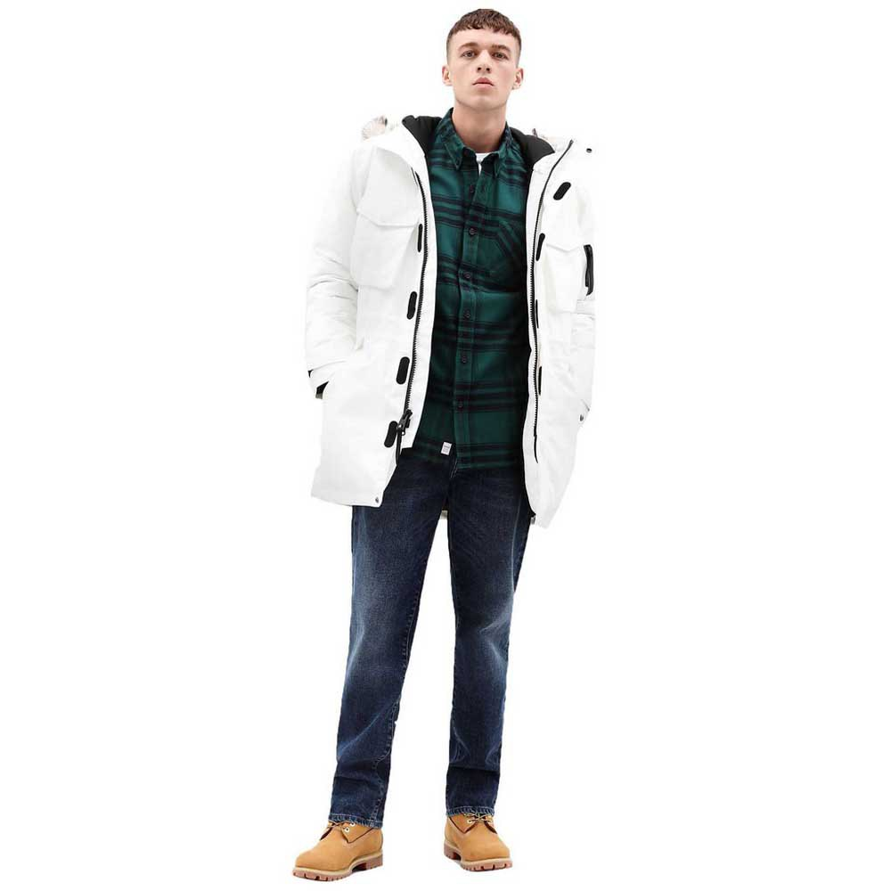 articulo vaquero asustado  Timberland Nordic Edge Parka White buy and offers on Dressinn