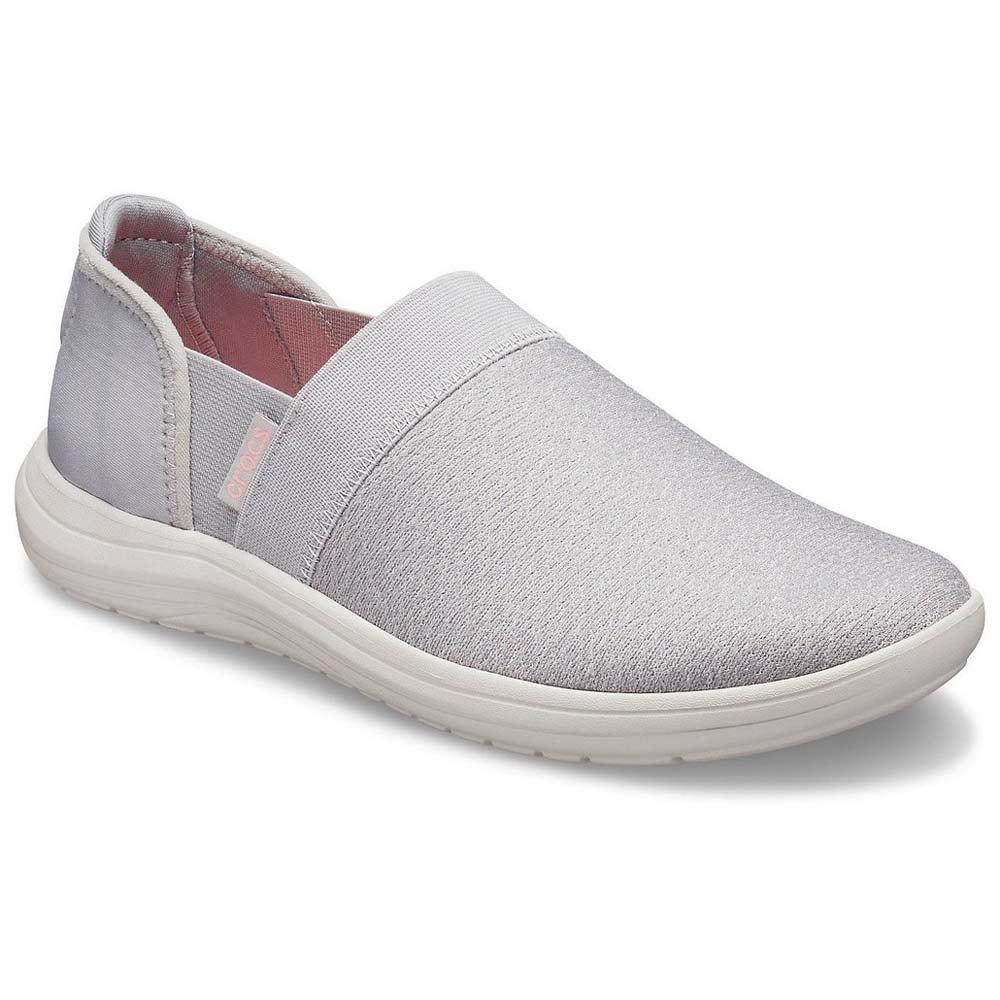 butik wyprzedażowy buty jesienne kupić Crocs Reviva Slip On Biały kup i oferty, Dressinn Sneakers