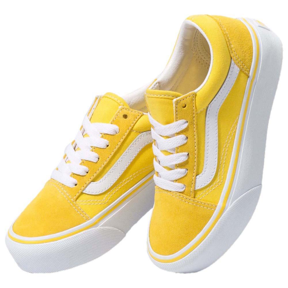 Vans Old Skool Platform Youth Yellow