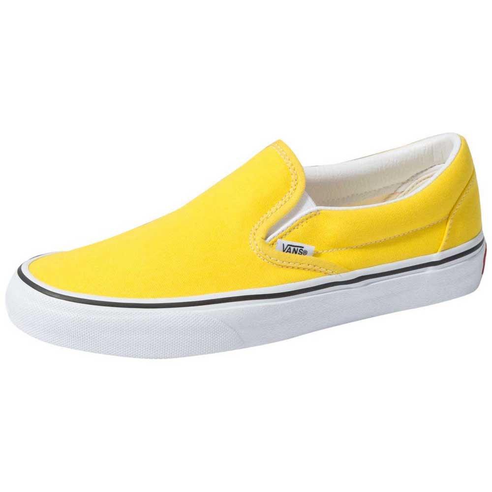 vans slip on jaune