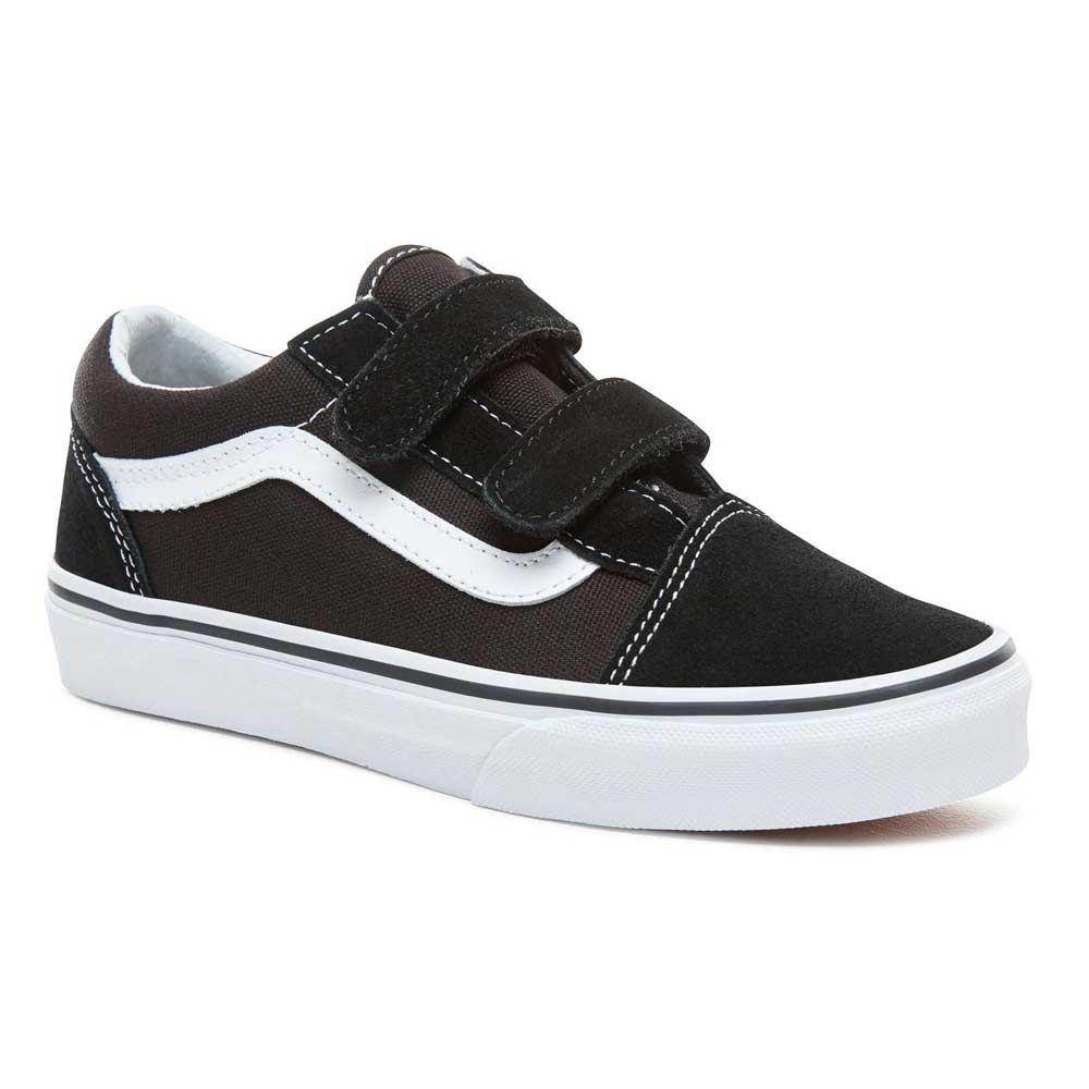 Vans Old Skool V Youth Black buy and