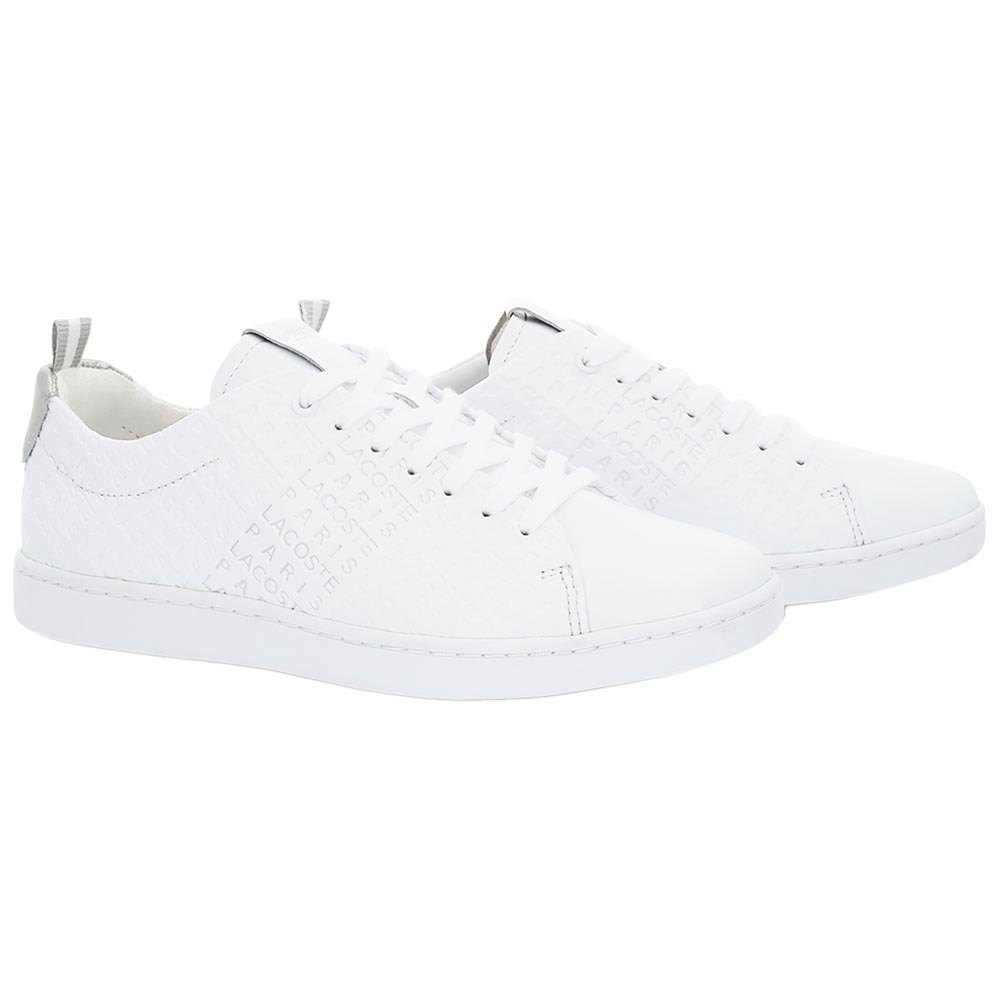 Lacoste Carnaby Evo Embossed Leather