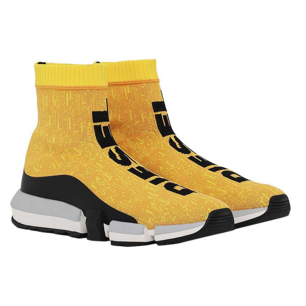Diesel Padola Mid Sock Yellow buy and
