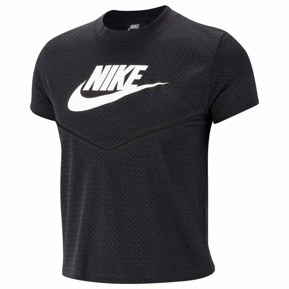 sweat nike femme sportswear heritage crew mesh