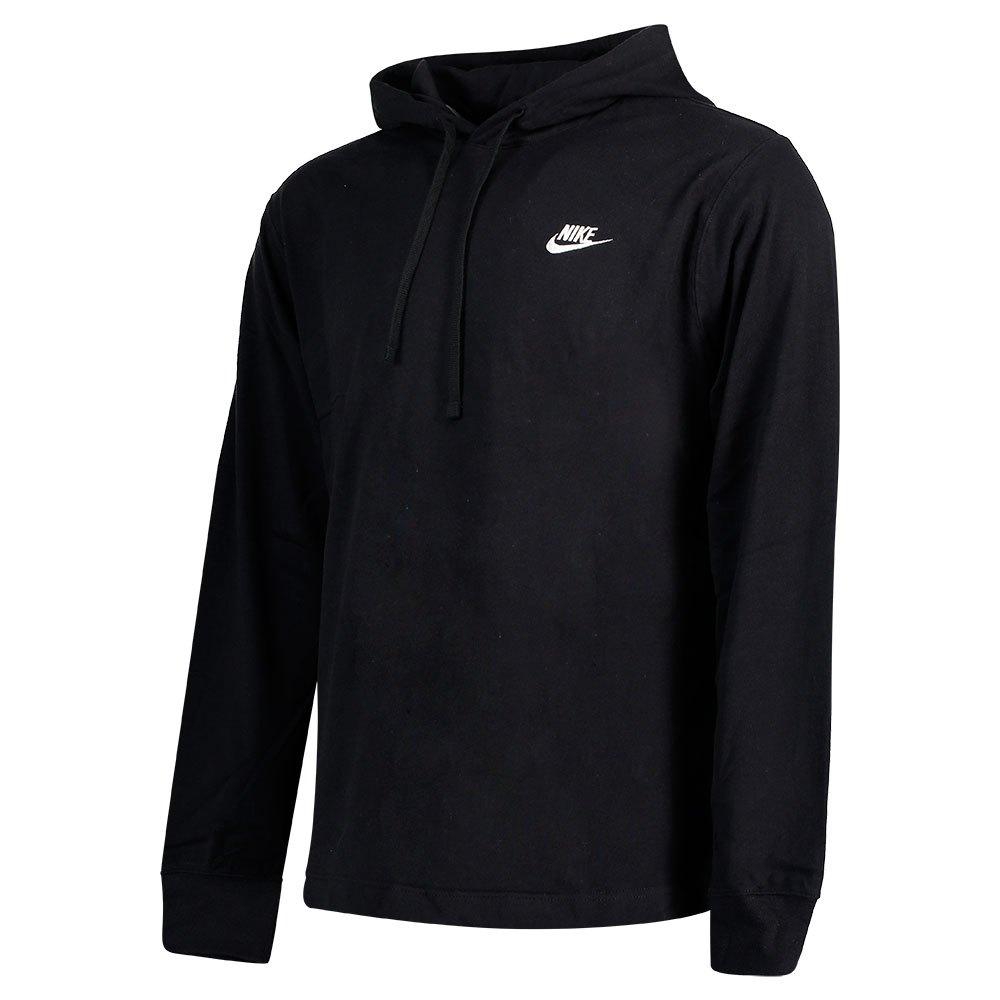 Nike NSW Club Hettegenser Svart   Herre   Overdeler Hoodie