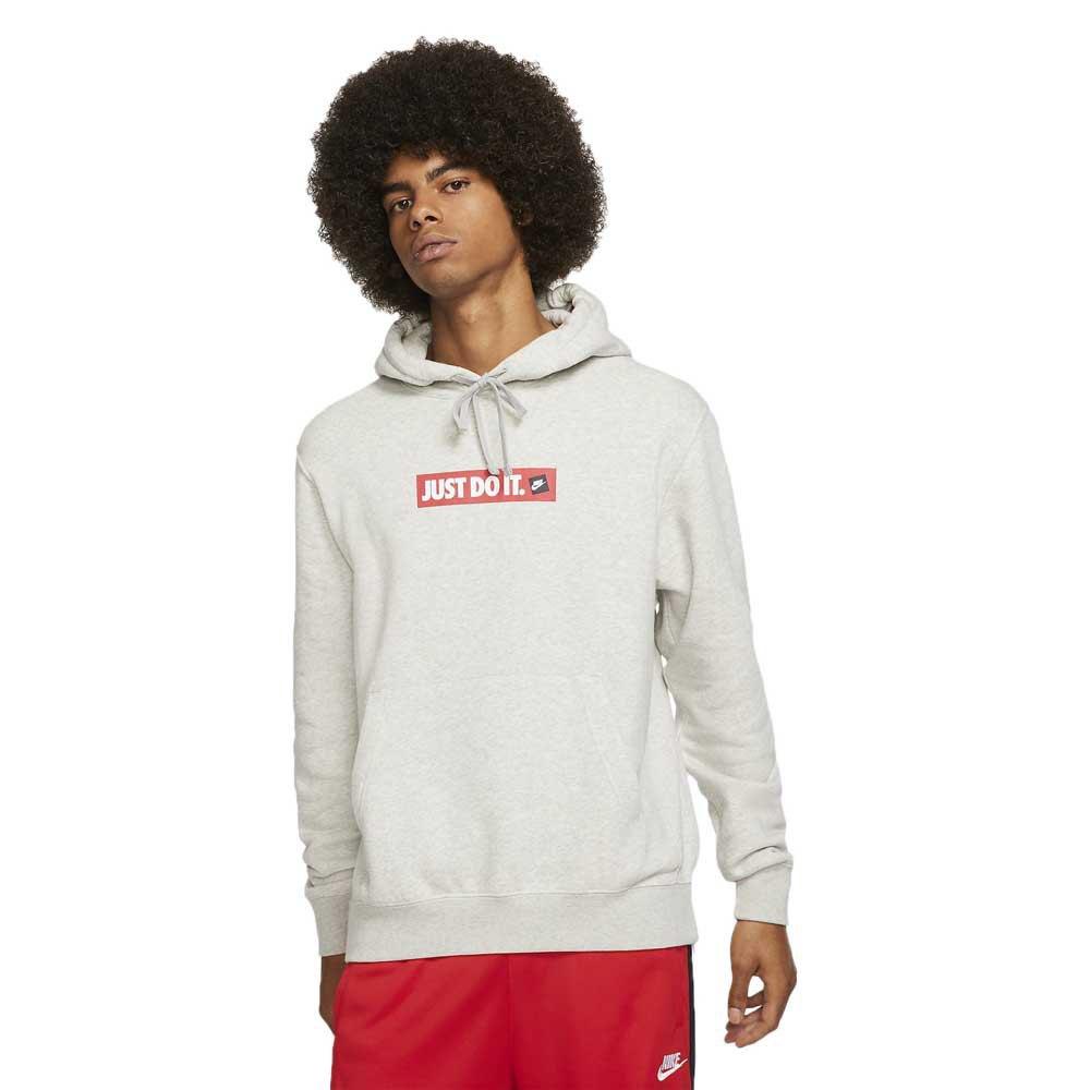 Nike Just Do It JDI Club Hoodie Pullover (Orange) Sealed
