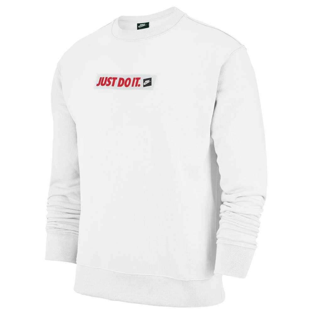 Nike Sportswear Just Do It Pullover Grå, Dressinn Hettgenser