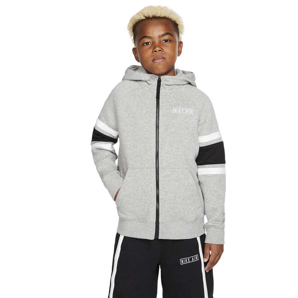 Nike Sportswear Air Half Zip Hoody Grå kjøp og tilbud