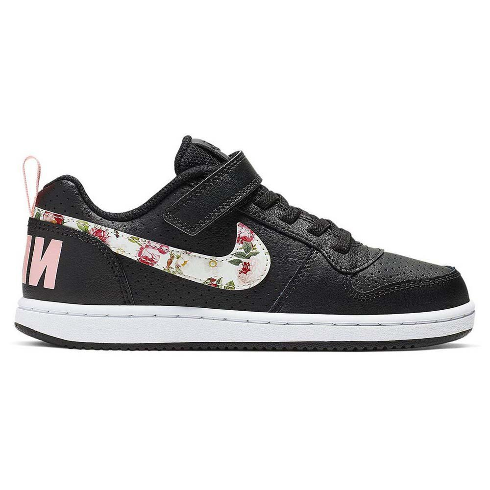 Zapatillas Nike Court Borough Gs Low VINTAGE FLORAL】Online