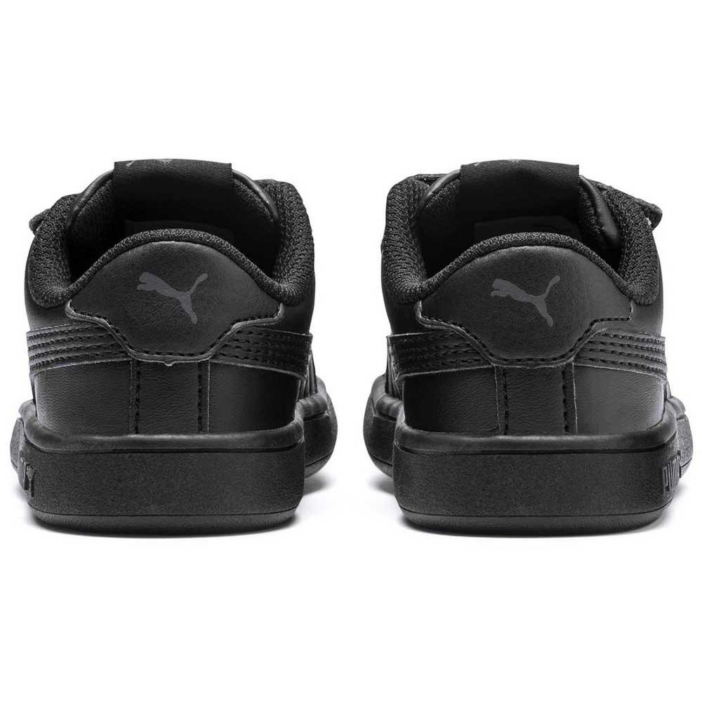 Puma Smash V2 L Velcro Infant Черный