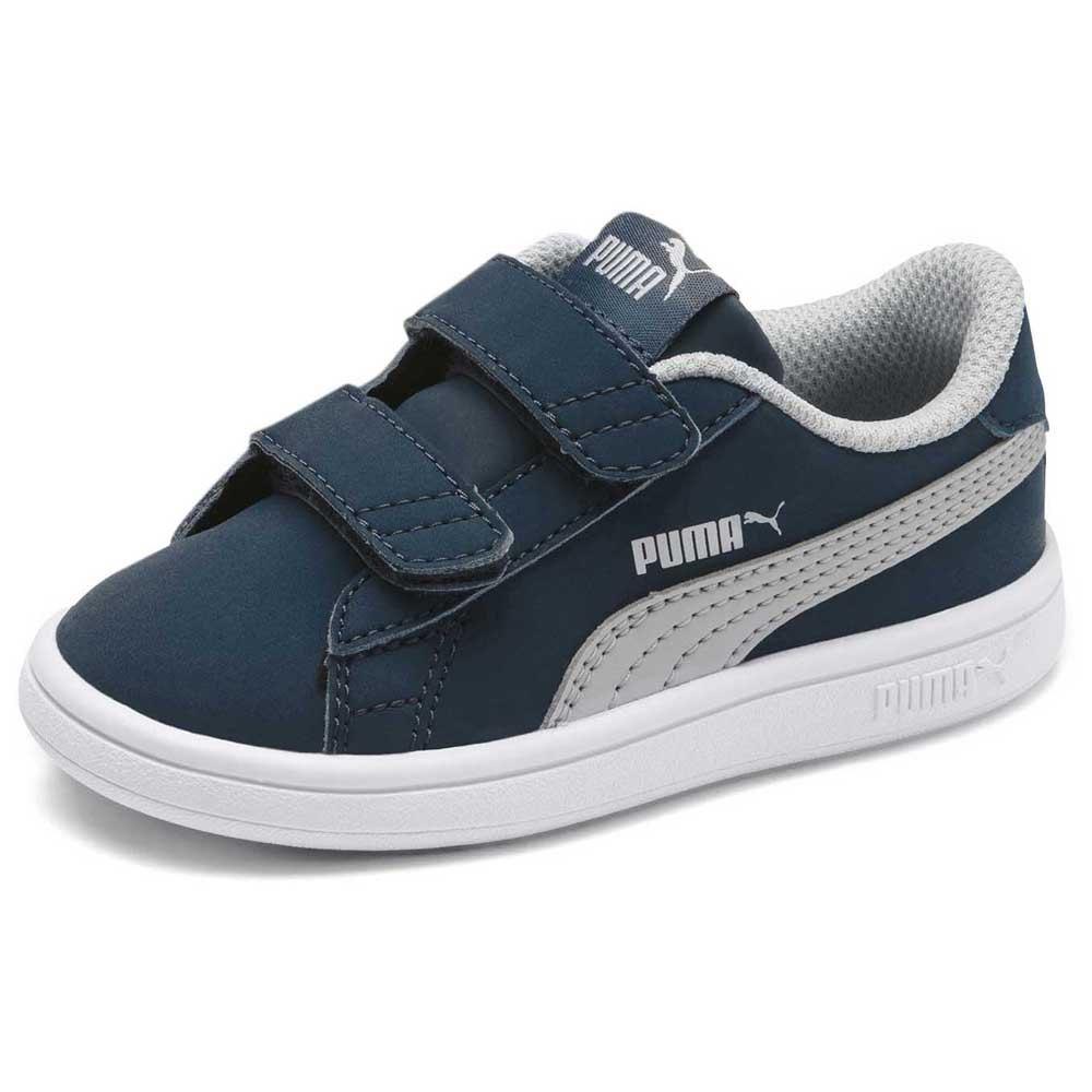 Puma Smash V2 Buck Velcro Infant Blue