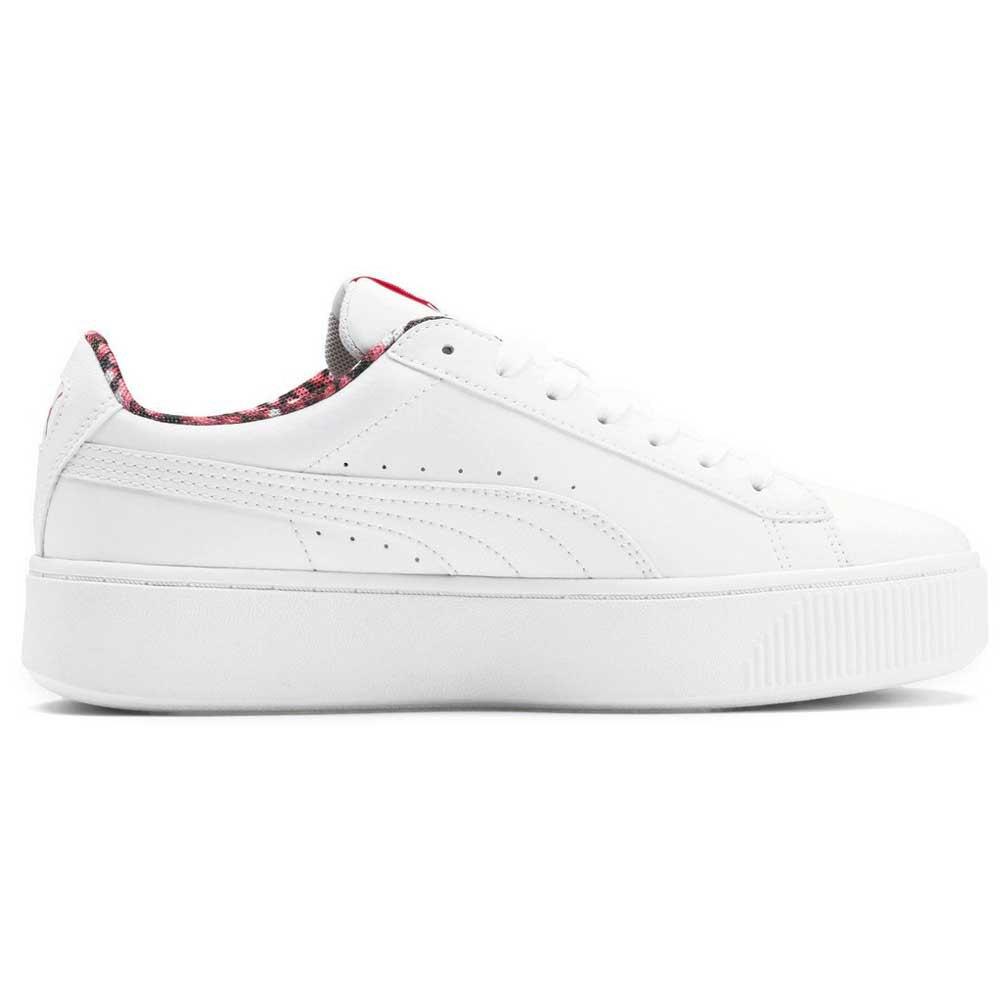 Descomponer Inválido Sicilia  Puma Vikky Stacked Neon Lights White buy and offers on Dressinn