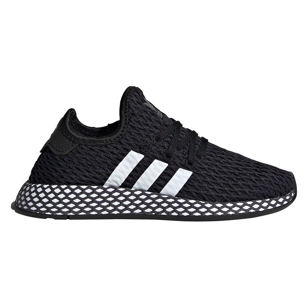 Print adidas Originals DEERUPT RUNNER Sneakers core balck