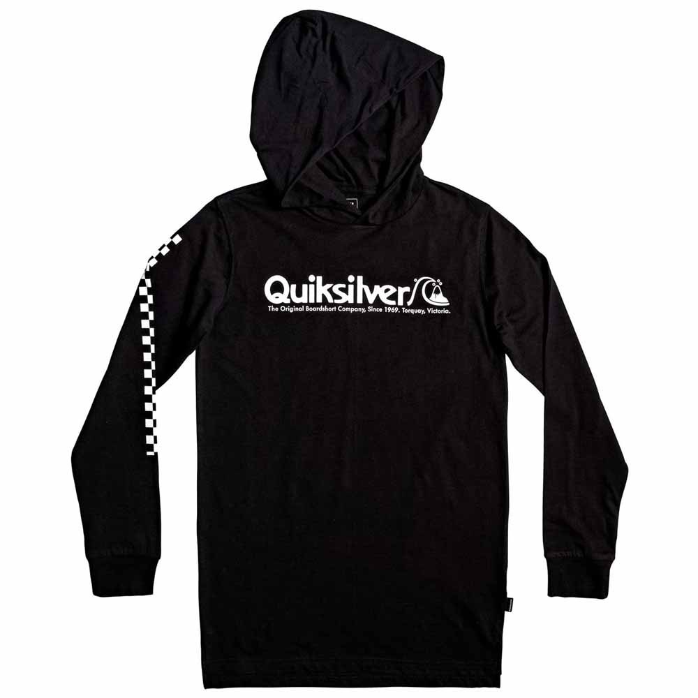 Boys Quiksilver Checkers Mate Hoodie
