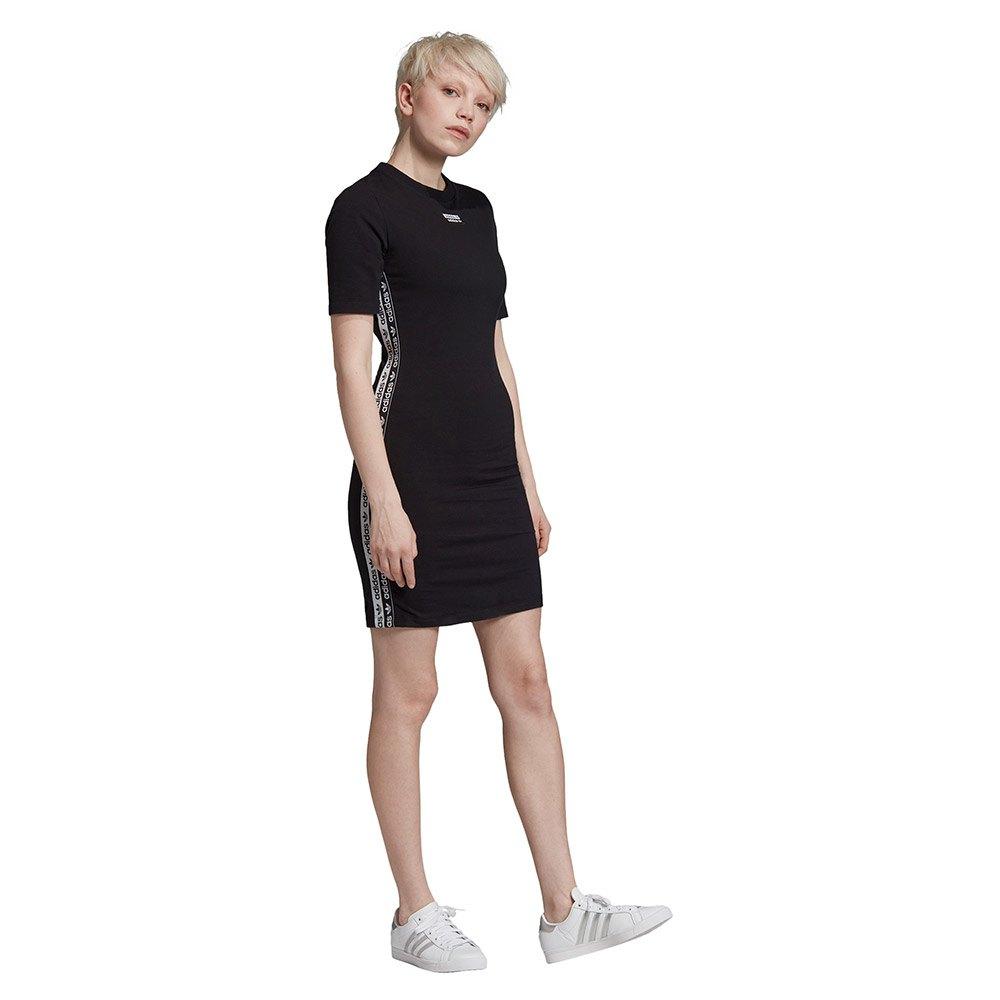 adidas originals Tee Dress Svart kjøp og tilbud, Dressinn Kjoler