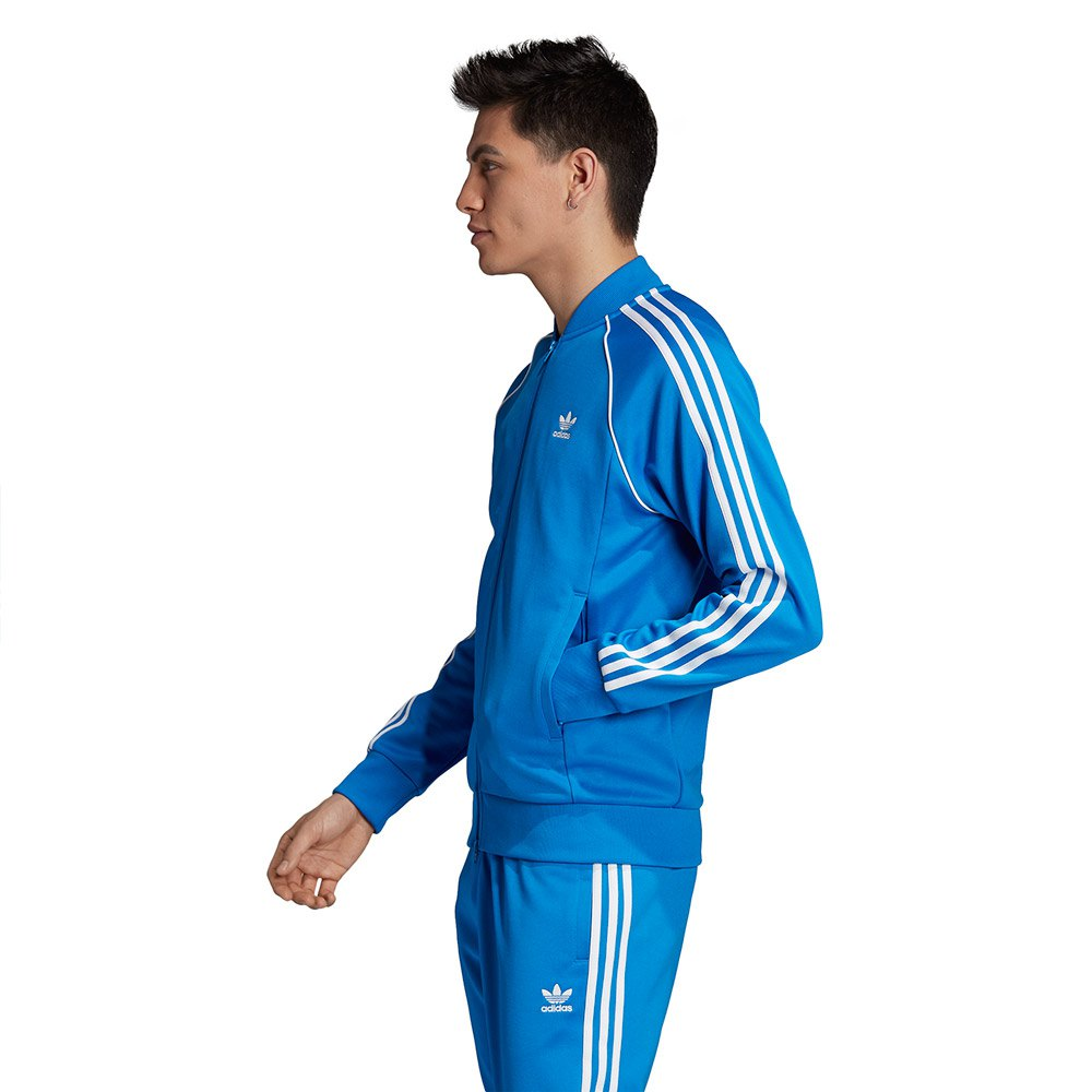adidas Adicolor Blue SST Track Pants | Pantalones adidas